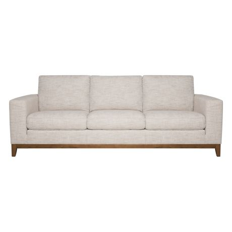 Zahra 3 Seat Sofa Alpha Natural