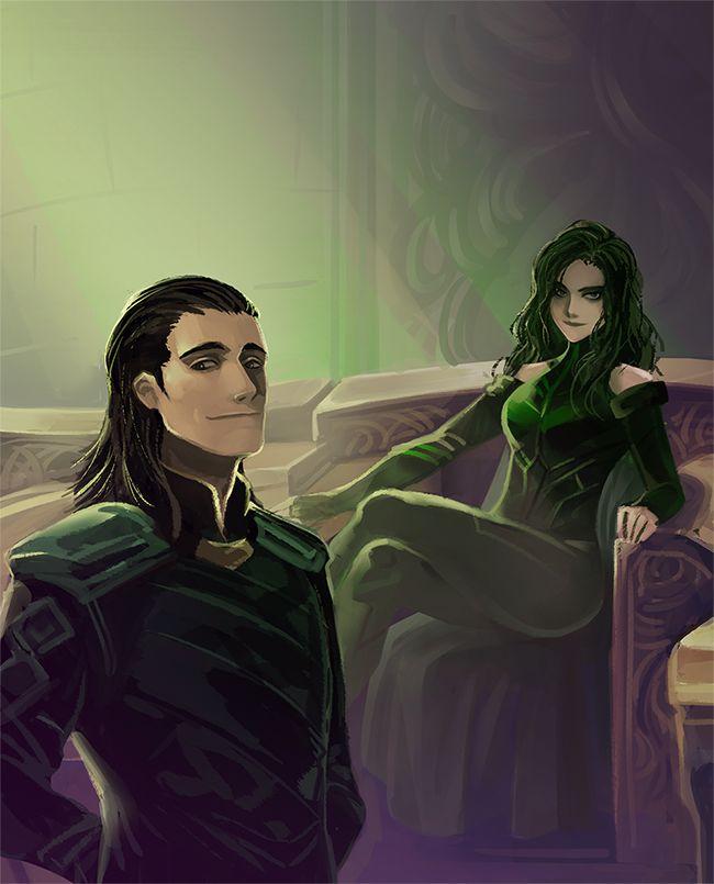 Mushstone (Thor 3 Ragnarok : Hela and Loki   I want to see if...)