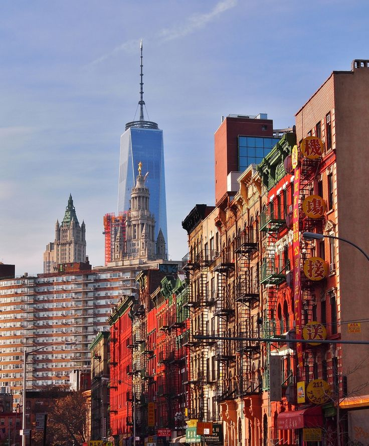 From Chinatown to Freedom Tower by Pyry Luminen on 500px