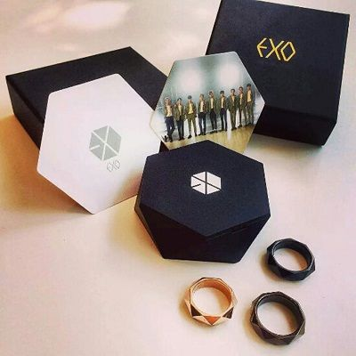 EXO Official Ring http://kpopmerchandiseworld.com/product/exo-official-ring http://kpopmerchandiseworld.com
