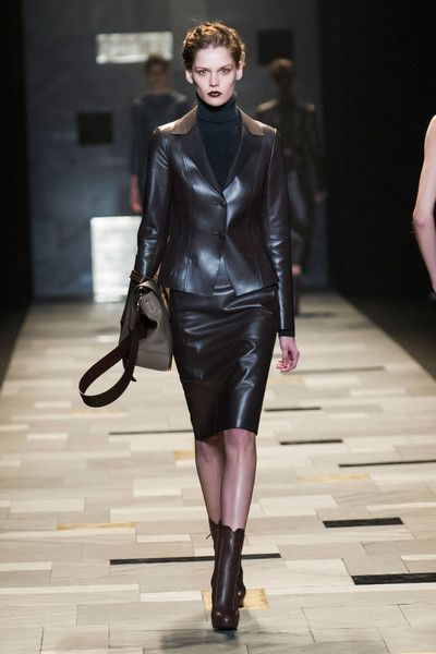 Trussardi 1911 bei Milan Fashion Week Fall 2015
