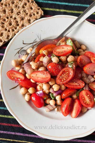 Cherry Tomato & Chickpea Salad
