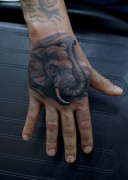 62 best images about everything elephant on pinterest for Animal hand tattoos
