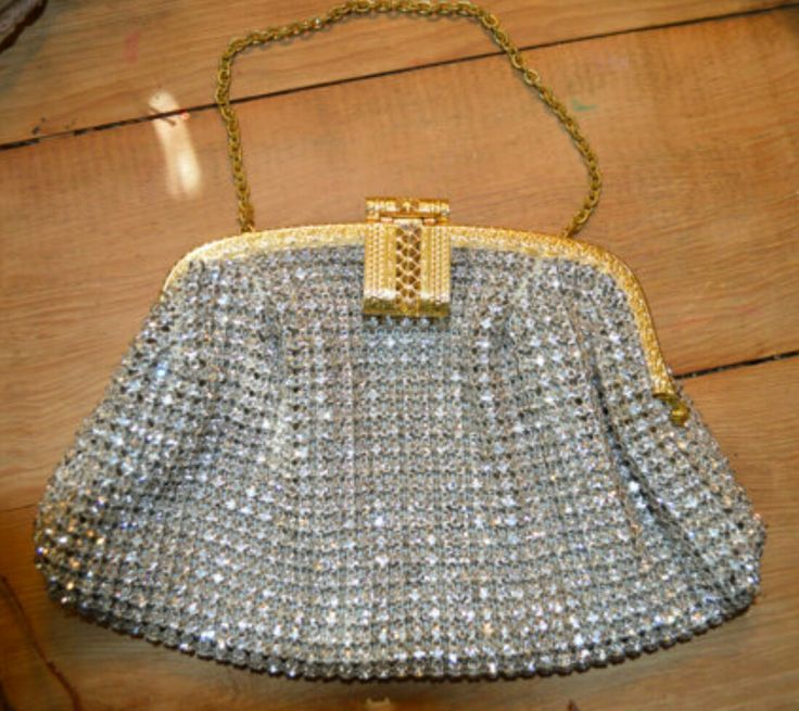 1940s Austrian Crystal Purse.  Available at www.etsy.com/shop/thiswayvintage