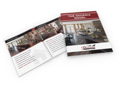 Check out our awesome Georgia model in this full colour (and free!) brochure; you'll love all the additional living space.