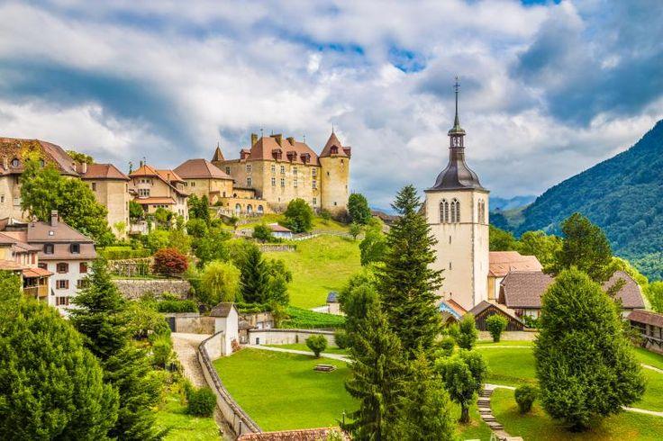 Gruyeres, Schweiz