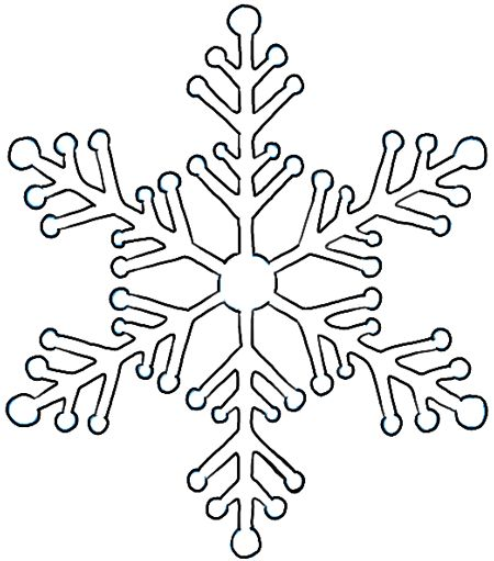 how to draw a snowflake in python