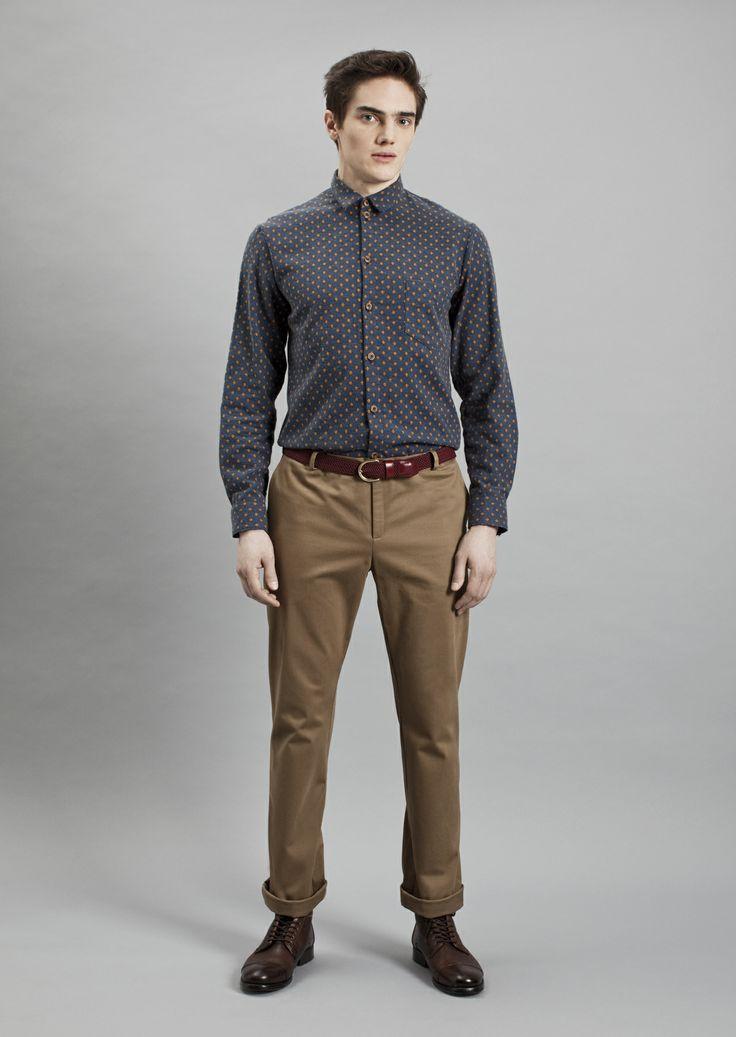 Tela Shirt and Dalek Trousers | Samuji Men Fall Winter 2014 Collection
