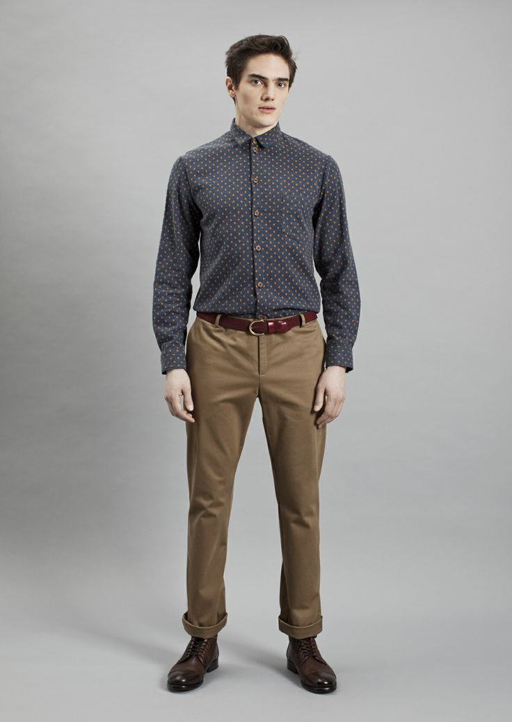 Tela Shirt and Dalek Trousers | Samuji Men Fall Winter 2014 Collection