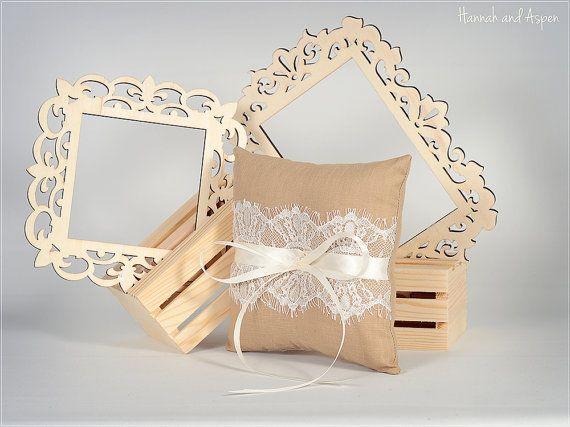 Sophie 6x6 cuscino anello di nozze Wedding di HannahAspensbridal