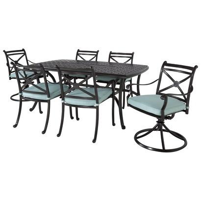 Charming Smith U0026 Hawken® San Rafael Metal Patio Dining Furniture Collection    Mist.Opens In