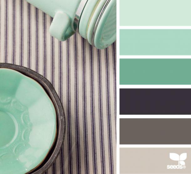 frisse en zachte kleuren