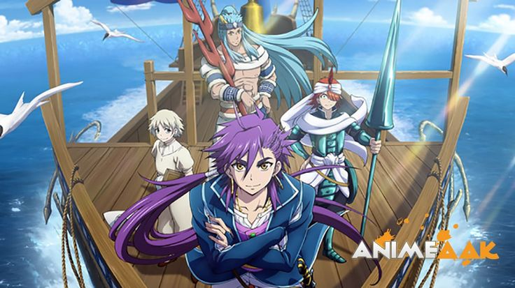 Magi Season 3 - 1-13 [2016] 720p Eng Sub Mkv