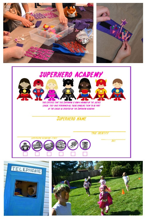 Superhero Party Game Ideas