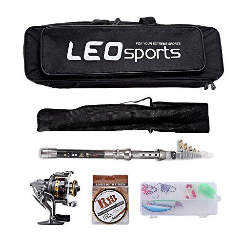 OutLife Fishing Tackle Kit with Spinning Rod Reel Combos Line Lures Hooks Travel Bag, for Sea Saltwater Freshwater Boat Fishing, Starter Professional Full Set(2.1M)  https://fishingrodsreelsandgear.com/product/outlife-fishing-tackle-kit-with-spinning-rod-reel-combos-line-lures-hooks-travel-bag-for-sea-saltwater-freshwater-boat-fishing-starter-professional-full-set2-1m/  FULL KIT INCLUDES: 1 x Fishing Rod Pole (with dustproof protecting bag), 1 x Spinning Reel, 1 x 100M Fishin