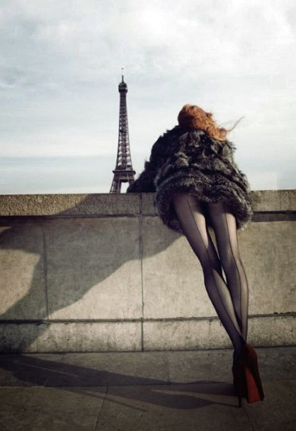 The views in Paris are spectacular.