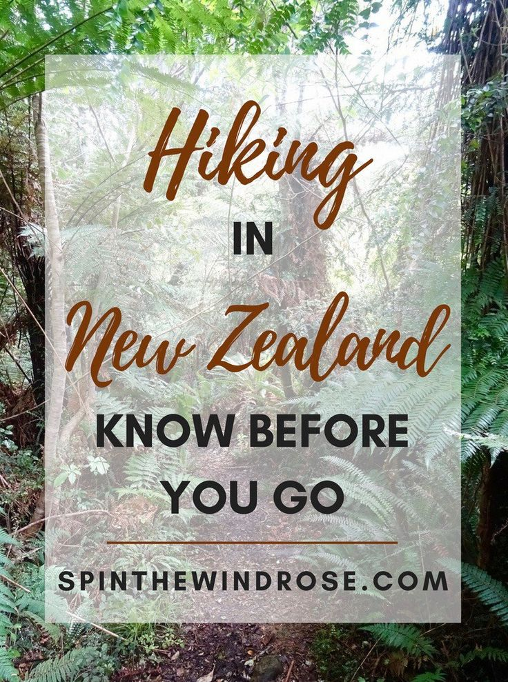 What to know about hiking (or, tramping) in New Zealand, including the nine Great Walks