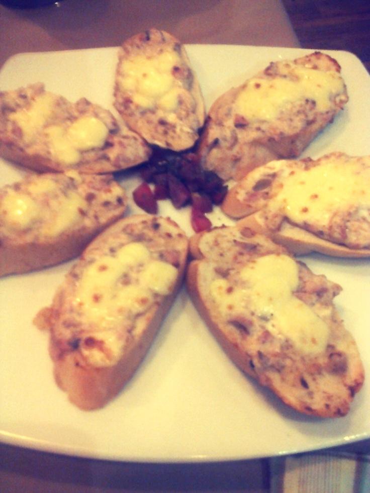 -- tuna melt cheese at Pizza Hut :)