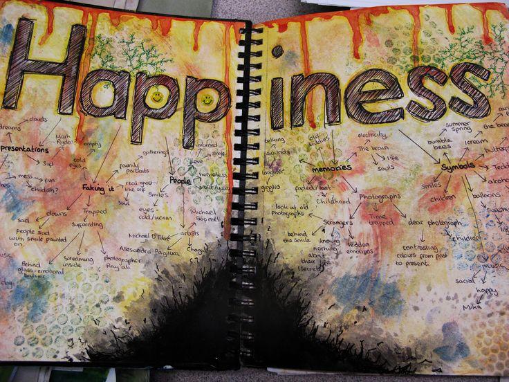 The Leventhorpe School Art Department Blog: Maria's Sketchbook.
