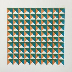 'Up' 2 colour relief print. Laser cut linoleum. Printed on somerset paper.