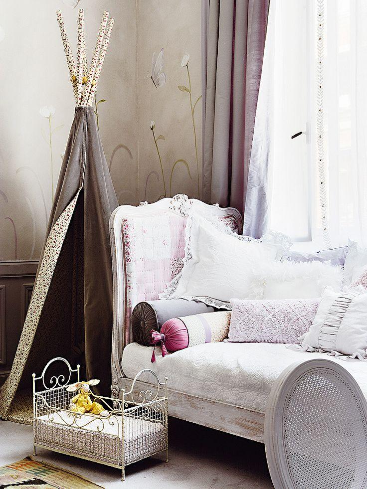 Фотография: Детская в стиле , Интерьер комнат, Прованс, Проект недели, Шебби-шик, Винтаж, интерьер в стиле шебби-шик – фото на InMyRoom.ru