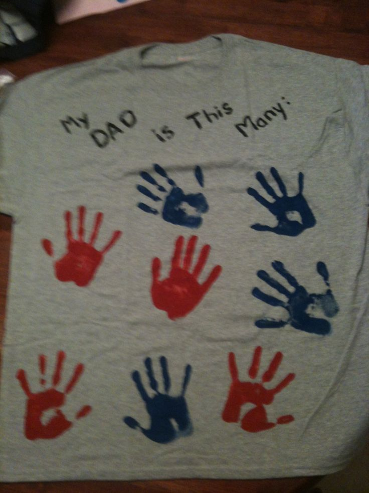 Tshirt with hands My daddy is this many!!