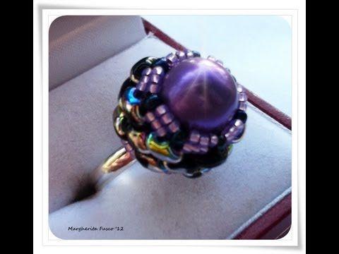 Video Tutorial DIY: anello con perline superduo e perla