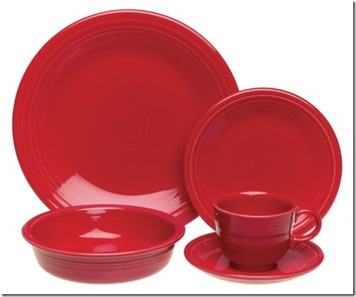 The most popular fiestaware pattern.: Popular Fiestawar, Fiestawar Patterns, Fiestas Scarlet, Fiestas Dishes, Fiestas Ware, Fiestawar Colors, Dinnerware Sets, Red Fiestawar, Scarlet Fiestawar