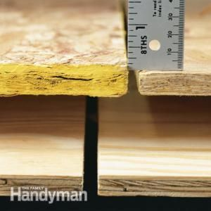Working on that new outdoor project? What's the difference between oriented strand board and plywood? We'll show you the pluses and minuses of both.