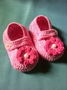 Belajar membuat sepatu bayi dengan rajutan crochet