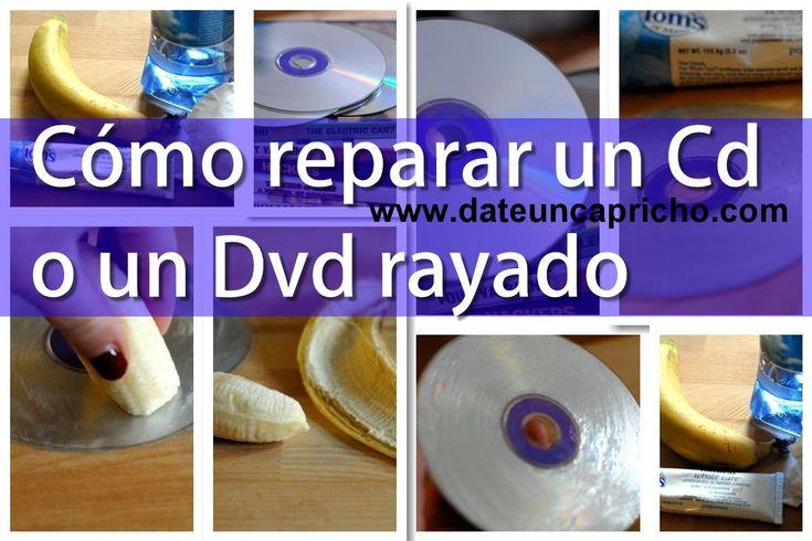 Como reparar Cd y Dvd rayados