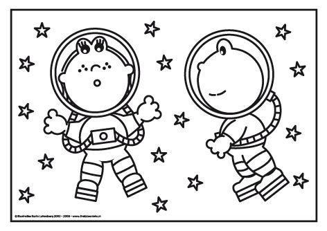 Frokkie en Lola in de ruimte