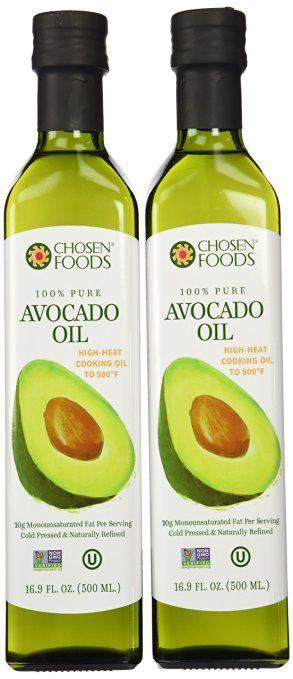 Избранным Foods Масло авокадо 500 мл Бутылка 2-Pack