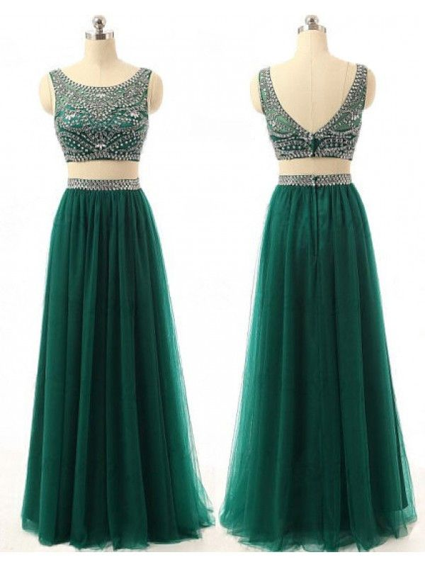 Custom Made Prom Dress Evening Gown In Two Pieces Pst0615 on Luulla