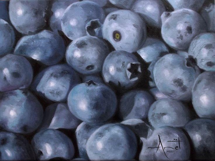 Blackberry Oil on canvas 30cm x 23cm SOLD