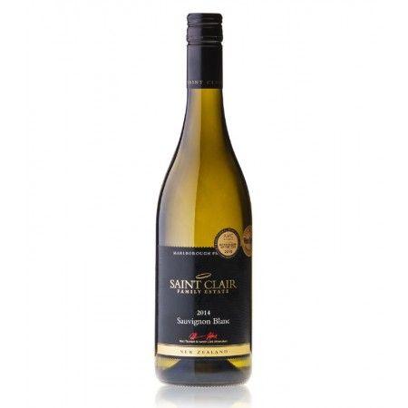 Saint Clair #Sauvignon #Blanc #Jahrgang 2014 aus #Neuseeland #trocken #Weißwein perfekt zu #Fisch #Geflügel #Spargel #Seafood #Geschenk