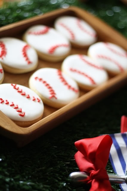 Boy party favors: Baseball Cookies, Baseb Birthday, Baseball Parties, Birthday Parties, Baseb Parties, Baseball Party, Parties Ideas, Baseb Cookies, Baseball Birthday