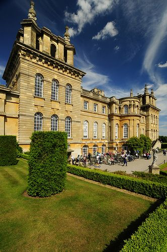 Blenheim Palace, Home of Winston Churchill, Oxfordshire