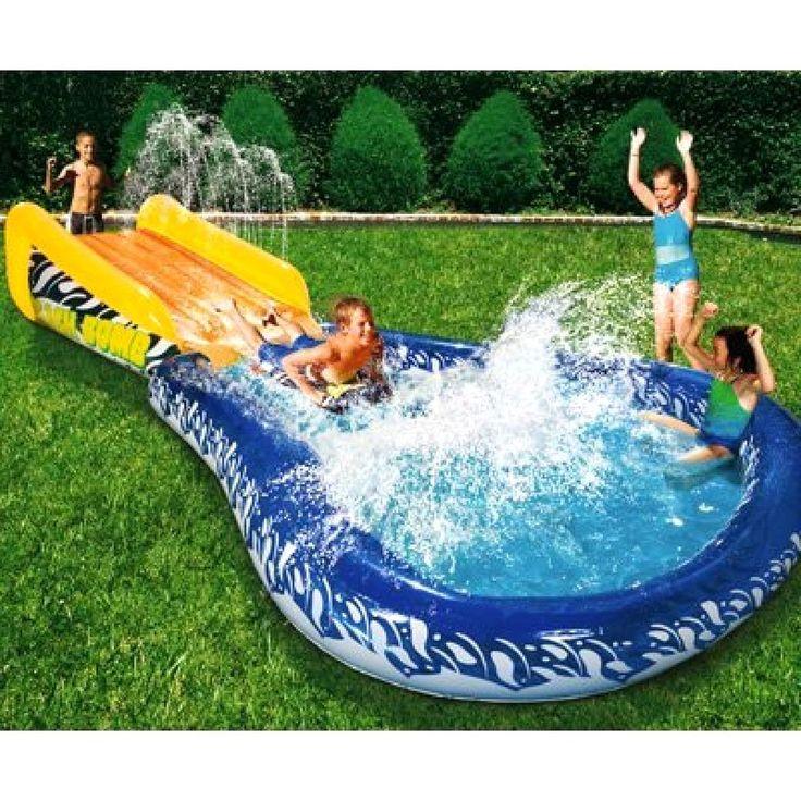Banzai Wave Crasher Surf Slide Inflatable Body Board 18593 Children, Kids, Game  #AvnerToys