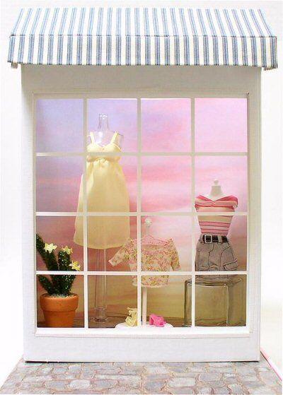 Doll Divas - Diorama Portfolio, How To Build A Display Window