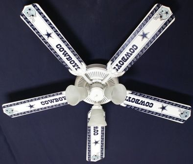 images of dallas cowboy themed garages | New NFL DALLAS COWBOYS FOOTBALL Ceiling Fan 52"