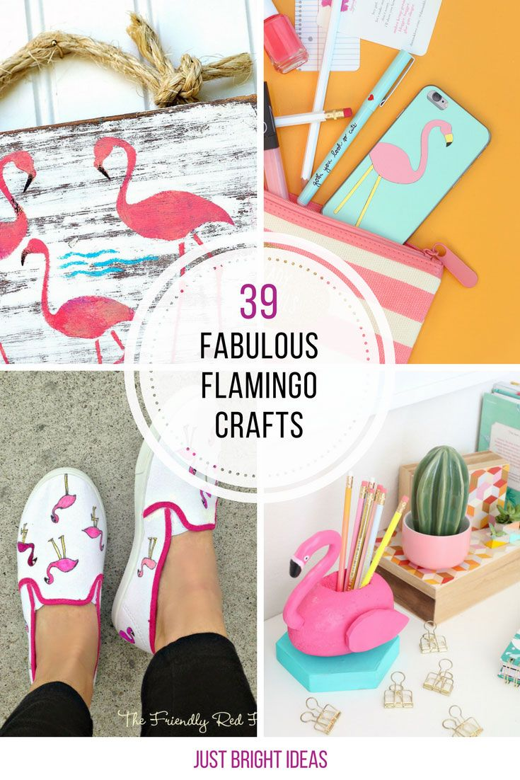 These DIY flamingo crafts are brilliant! Thanks for sharing!