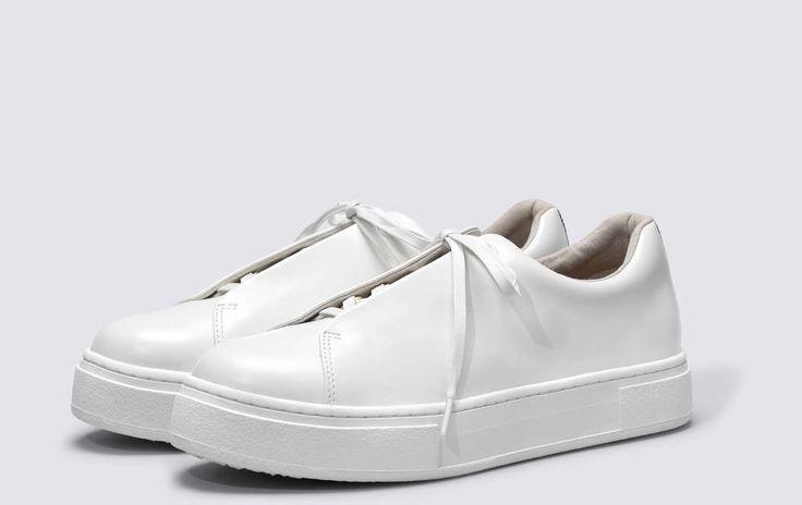 #Eytys Doja Leather White.