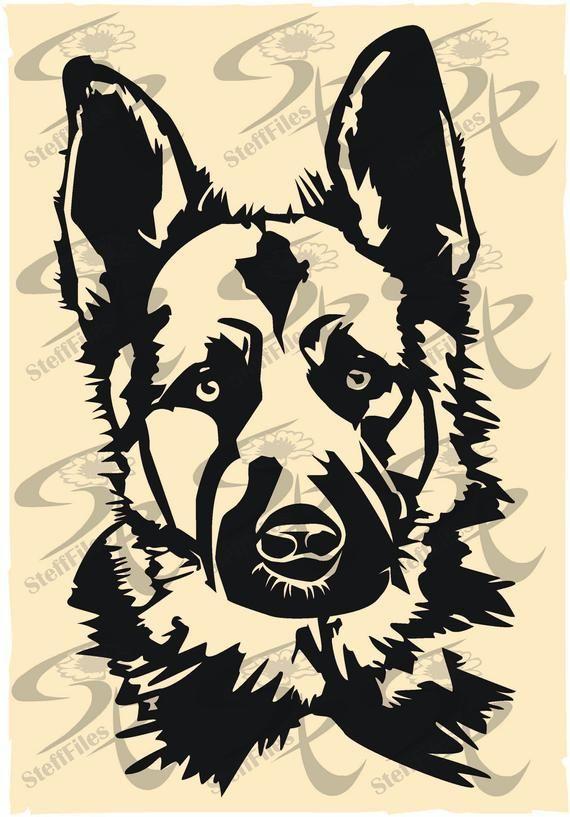 9 4 15 2cm German Shepherd Shepard Dog Car Sticker Car Styling Window Decorative Decals Black Silver German Shepherd Tattoo German Shepherd Art Dog Tattoo