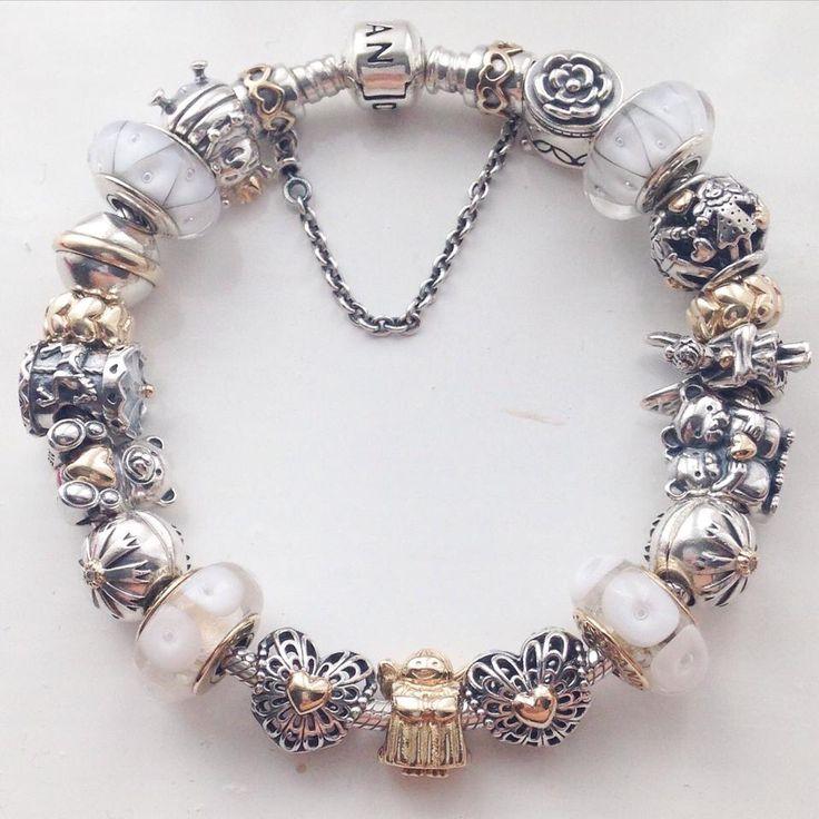 Fine Jewelry Forever Moments Breast Cancer Ribbon Charm Bracelet Bead 7qOZrGN