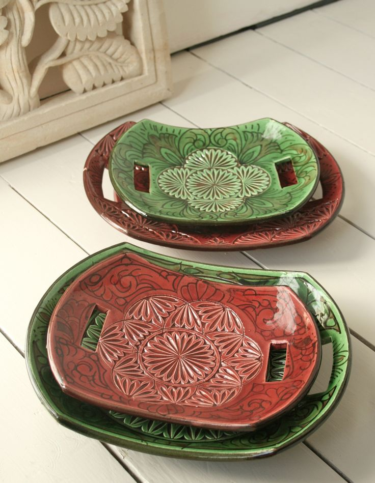 Moroccan pottery from Looker & Bell
