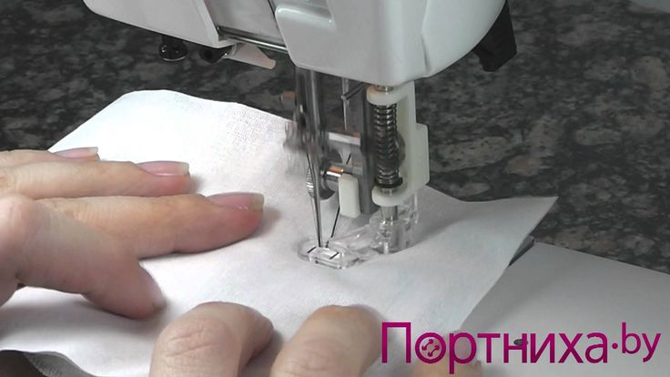 Лапка для штопки - инструкция