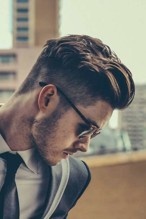 men undercut hairstyle