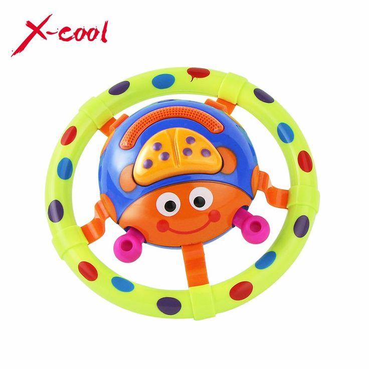XC6613-5 mignon bebe jouets avec son et lumiere/coccinelle bebe jouet/enfants jouets musicaux/saisir jouet comme un cadeau pour peu enfants