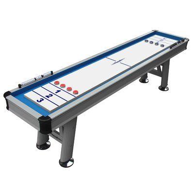 """Playcraft Extera Outdoor Shuffleboard Table Size: 31"""" H x 29"""" W x 144"""" D"""